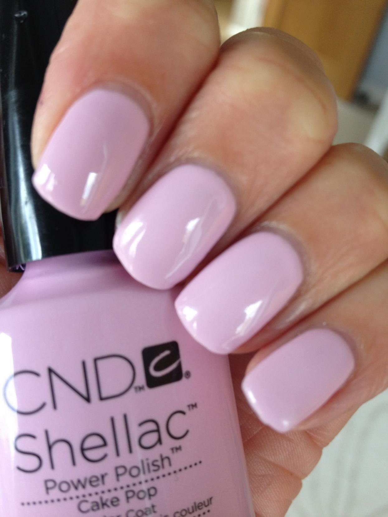 cnd shellac sweet dream collection cake pop e lilac longing nails 4 passion. Black Bedroom Furniture Sets. Home Design Ideas